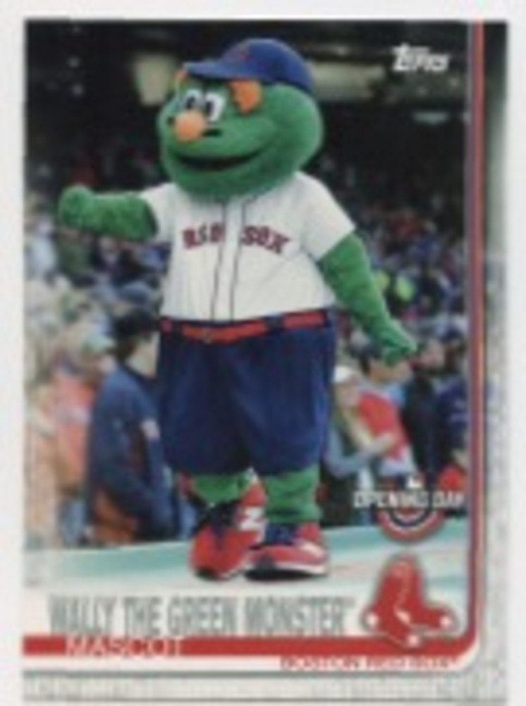 2019 Topps Opening Day Mascots #M15 Wally the Green Monster