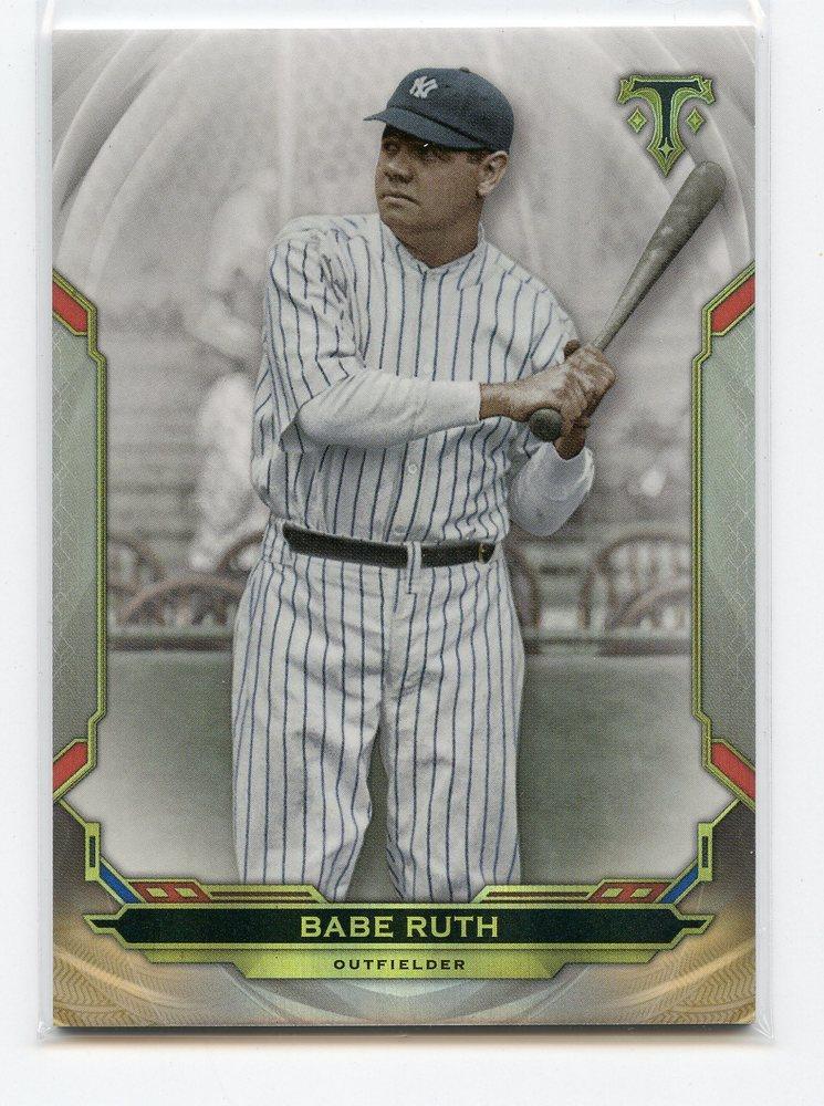 2019 Topps Triple Threads #57 Babe Ruth