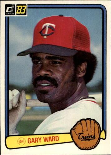Photo of 1983 Donruss #429 Gary Ward