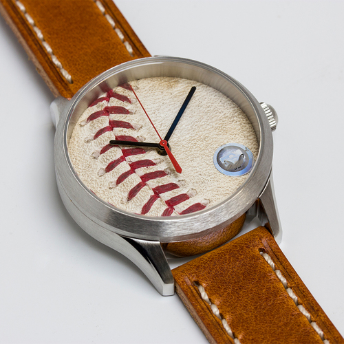 Photo of Tokens & Icons San Francisco Giants 2014 World Series Game Used Baseball Watch - Game 4