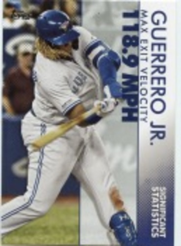 Photo of 2020 Topps Significant Statistics #SS1 Vladimir Guerrero Jr.