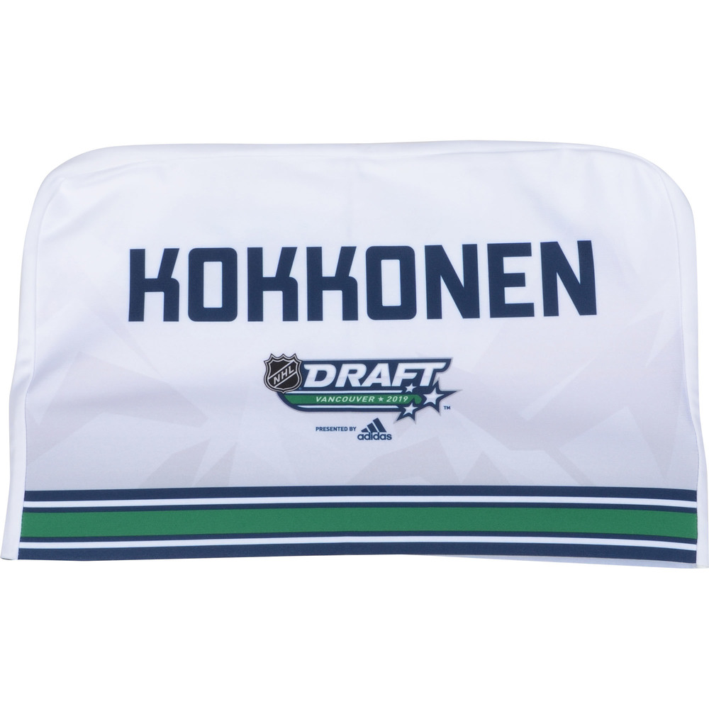 Mikko Kokkonen Toronto Maple Leafs 2019 NHL Draft Seat Cover - Second set (Not Used)