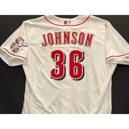 Photo of Derek Johnson -- 2020 Home White Jersey -- Team Issued -- Size 48
