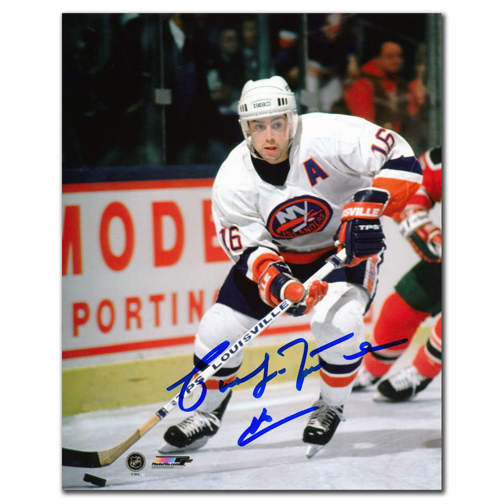 Pat LaFontaine New York Islanders RUSH Autographed 8x10