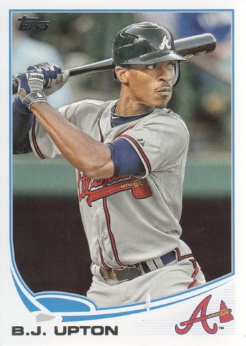 Photo of 2013 Topps #614 B.J. Upton