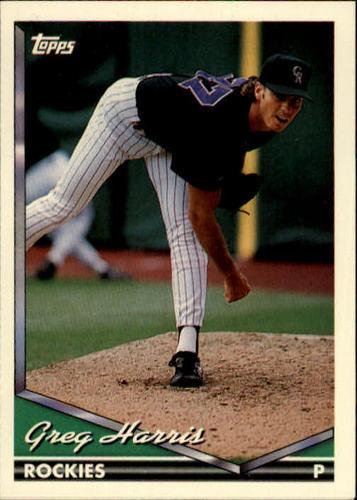 Photo of 1994 Topps #18 Greg W. Harris