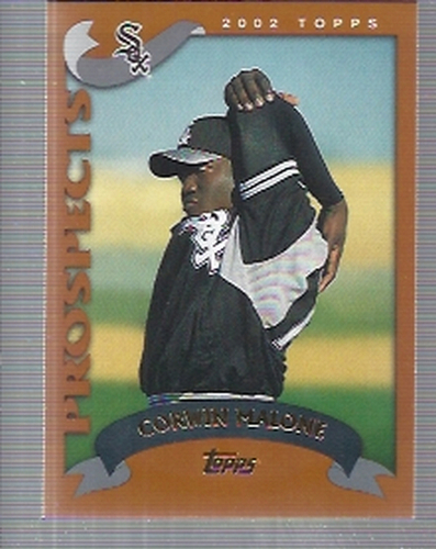Photo of 2002 Topps Traded #T224 Corwin Malone RC