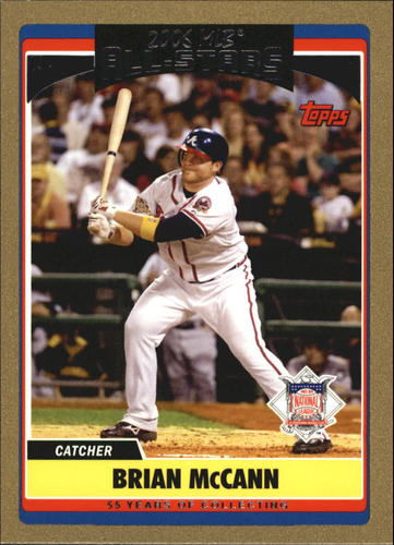 Photo of 2006 Topps Update Gold #258 Brian McCann AS