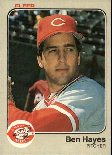 Photo of 1983 Fleer #591 Ben Hayes