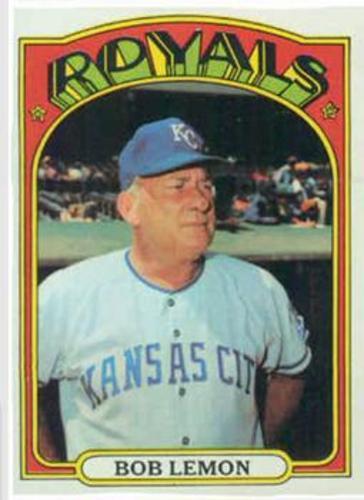 Photo of 1972 Topps #449 Bob Lemon MG