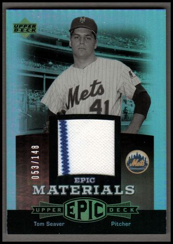 Photo of 2006 Upper Deck Epic Materials Red #TS2 Tom Seaver Jsy/148