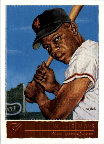 Photo of 2001 Topps Gallery #50 Willie Mays RETAIL