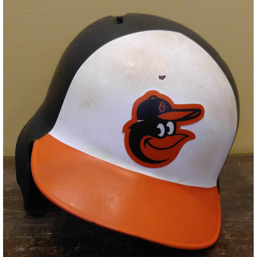Chris Davis - Batting Helmet: Team-Issued