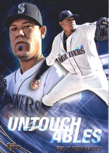 Photo of 2017 Topps Update Untouchables #U9 Felix Hernandez