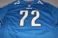 LIONS - LAKEN TOMLINSON SIGNED LIONS REPLICA JERSEY - SIZE 3XL