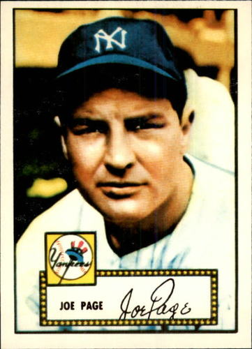 Photo of 1983 Topps 1952 Reprint #48 Joe Page