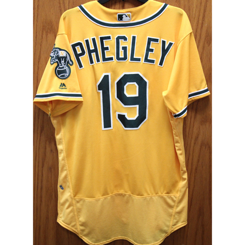 Photo of 2017 Josh Phegley Game-Used Jersey