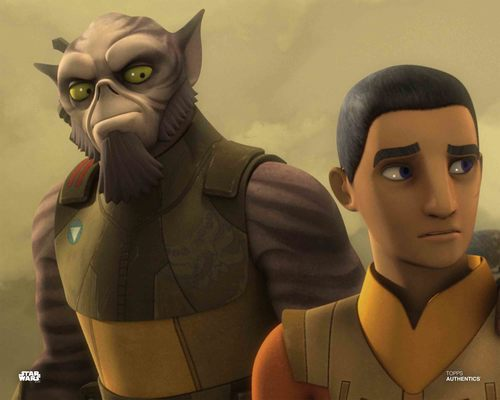 Ezra Bridger and Zeb Orrelios