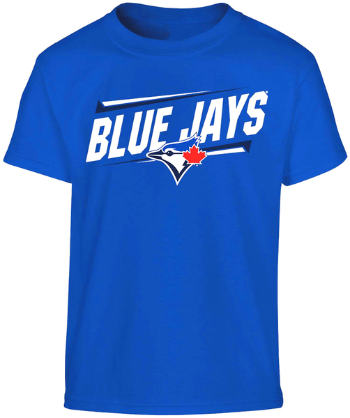 Toronto Blue Jays Youth Slant T-Shirt by Bulletin
