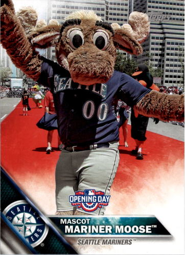 Photo of 2016 Topps Opening Day Mascots #M19 Mariner Moose