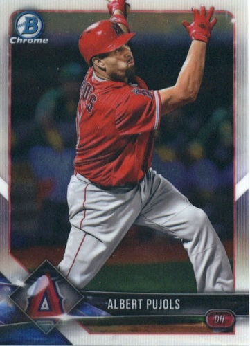 Photo of 2018 Bowman Chrome #29 Albert Pujols