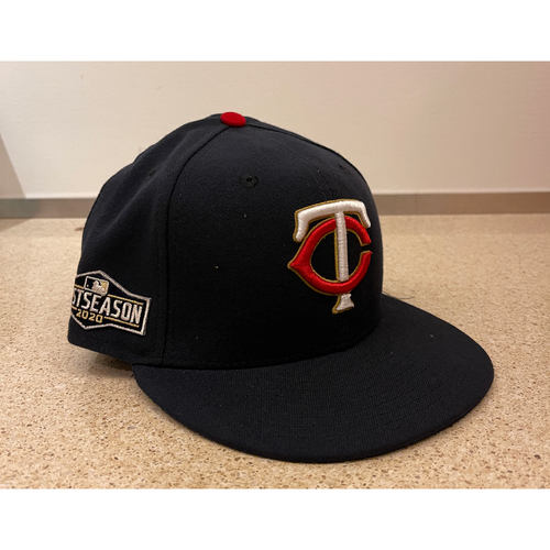 Photo of Minnesota Twins 2020 Home Navy Team-Issued Postseason Cap - Choose your Number and size!