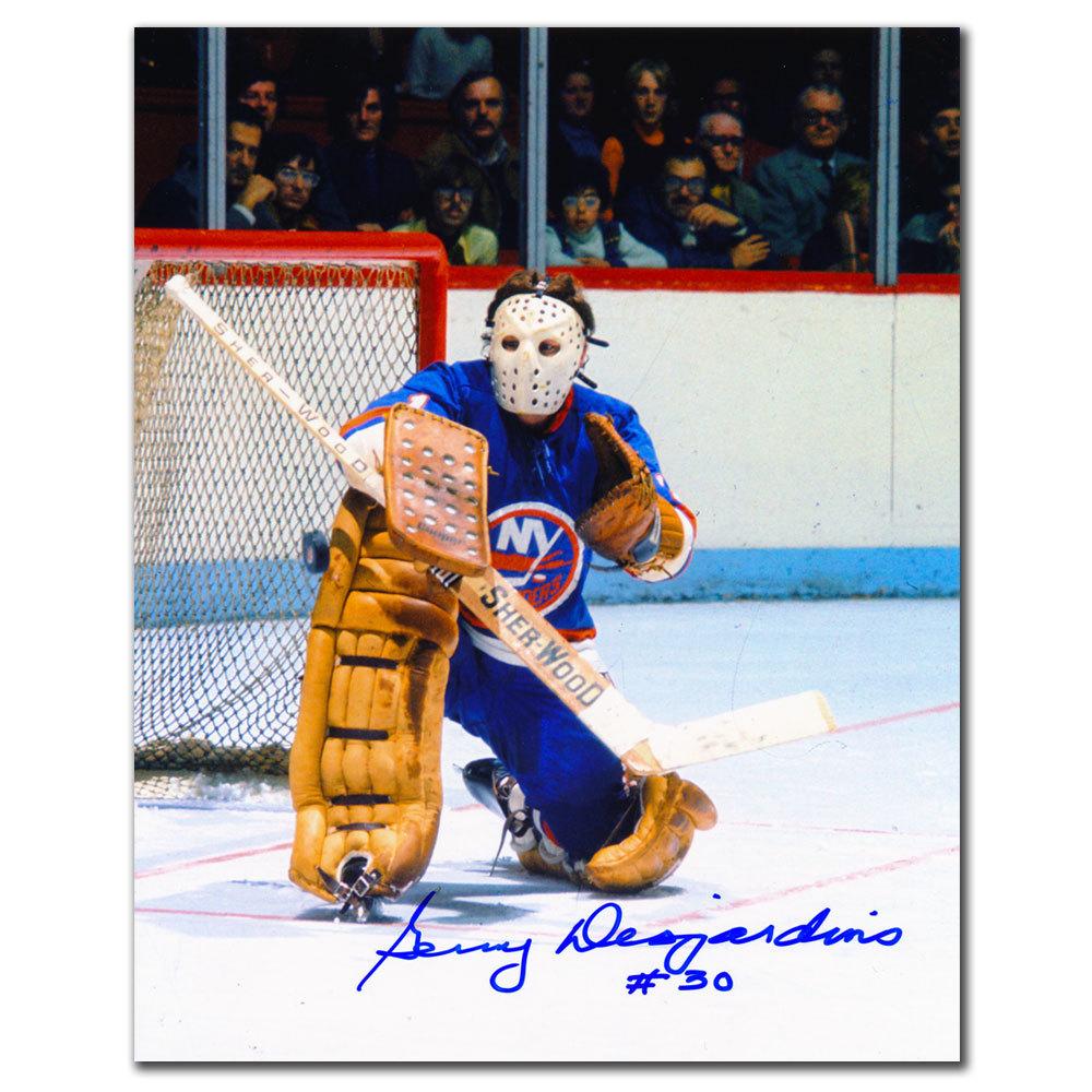 Gerry Desjardins New York Islanders Autographed 8x10