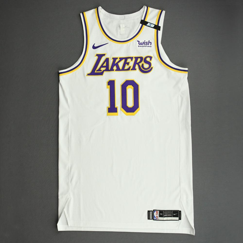 Jared Dudley - Los Angeles Lakers - Game-Worn Association Edition ...