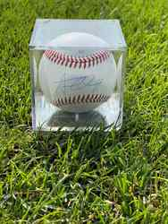 Photo of Austin Wells Signed Baseball