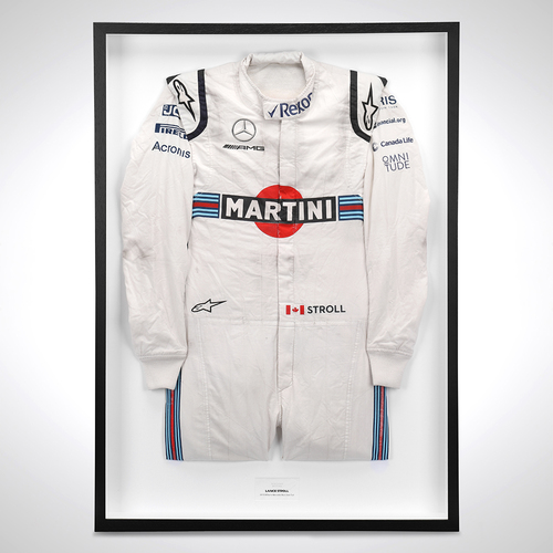 Photo of Lance Stroll 2018 Race Used Race Suit