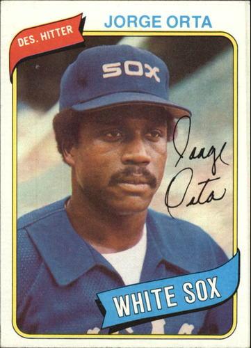 Photo of 1980 Topps #442 Jorge Orta