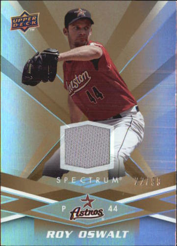 Photo of 2009 Upper Deck Spectrum Gold Jersey #42 Roy Oswalt Jsy