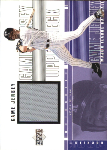 Photo of 2001 Upper Deck Game Jersey #CTH Todd Helton