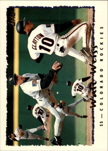 Photo of 1995 Topps #110 Walt Weiss