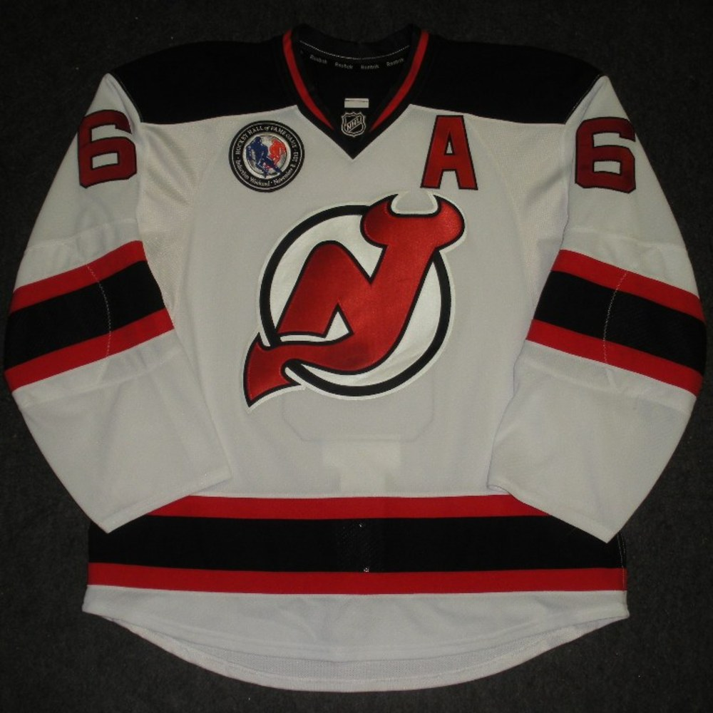#6 Andy Greene - New Jersey Devils - Hockey Hall of Fame Game - Game-Worn Jersey