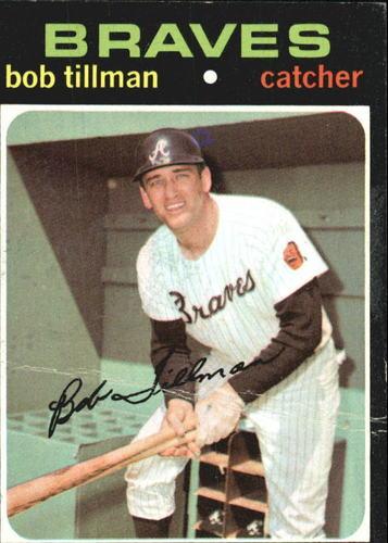 Photo of 1971 Topps #244 Bob Tillman