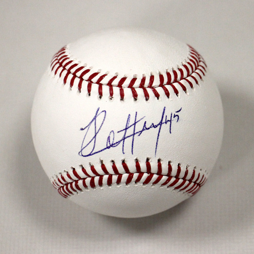 Jharel Cotton Autographed Baseball