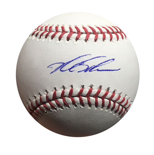 Photo of Kyle Schwarber Autographed World Series Baseball