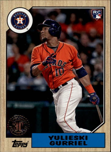 Photo of 2017 Topps '87 Topps #8797 Yulieski Gurriel