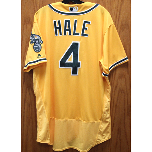 Photo of 2017 Chip Hale Game-Used Jersey