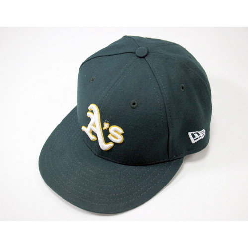 Ryon Healy #25 Game-Used Road Hat
