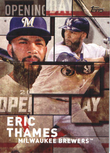 Photo of 2018 Topps Opening Day Insert #OD28 Eric Thames