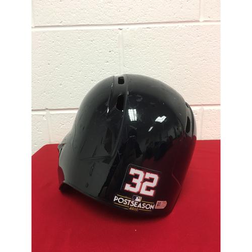 Photo of Team-Issued Helmet: Matt Wieters 2017 Postseason (Helmet Size - 7 3/8)