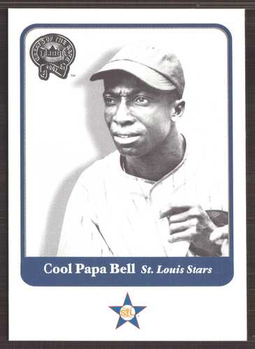 Photo of 2001 Greats of the Game #64 Cool Papa Bell Hall of Fame Class of 1974