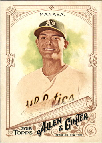 Photo of 2018 Topps Allen and Ginter #27 Sean Manaea