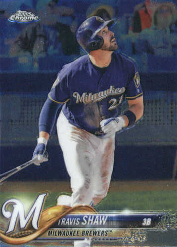 Photo of 2018 Topps Chrome #105 Travis Shaw
