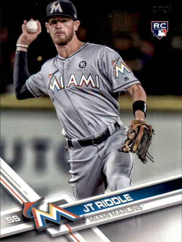 Photo of 2017 Topps Update #US159 JT Riddle RC