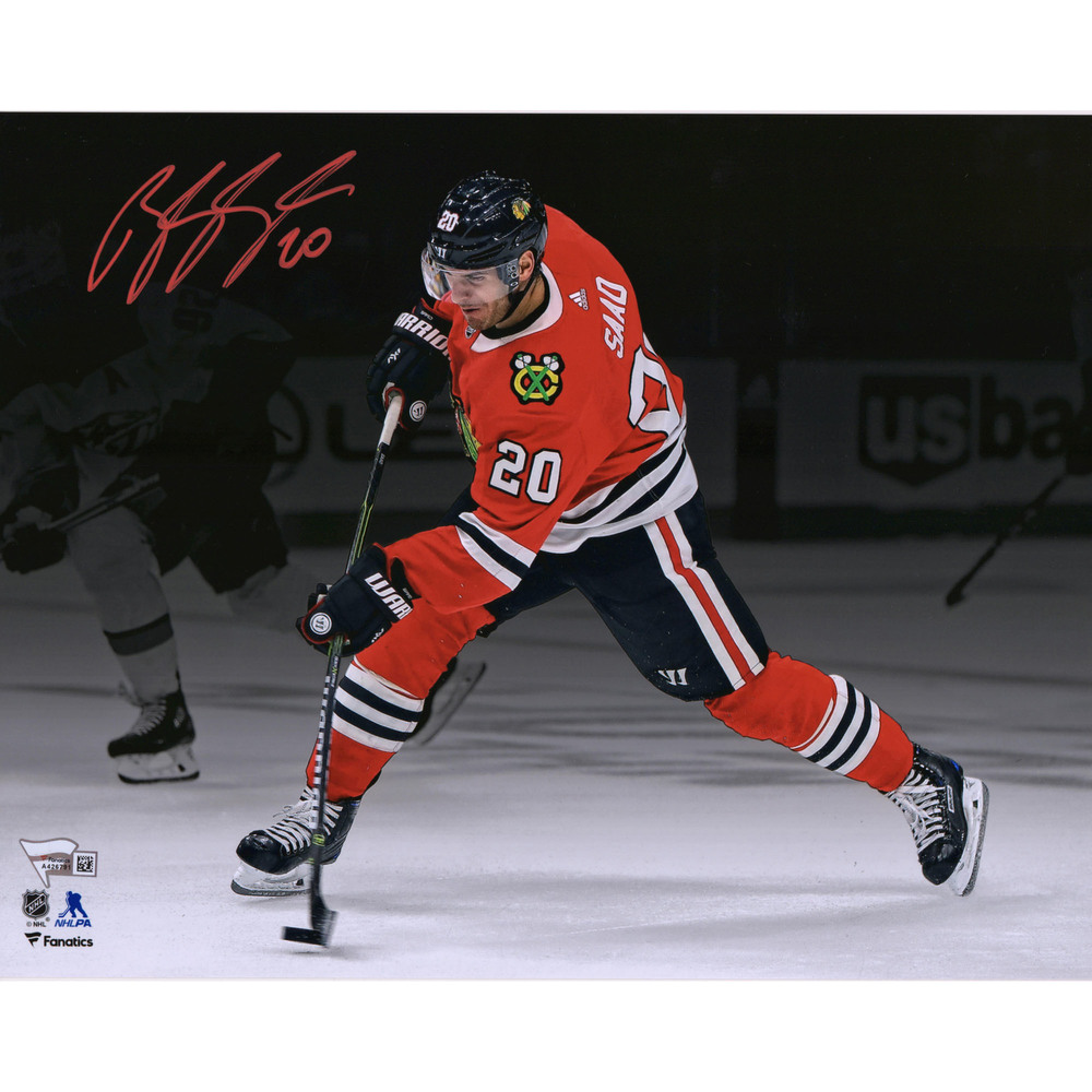 Brandon Saad Chicago Blackhawks Autographed 11
