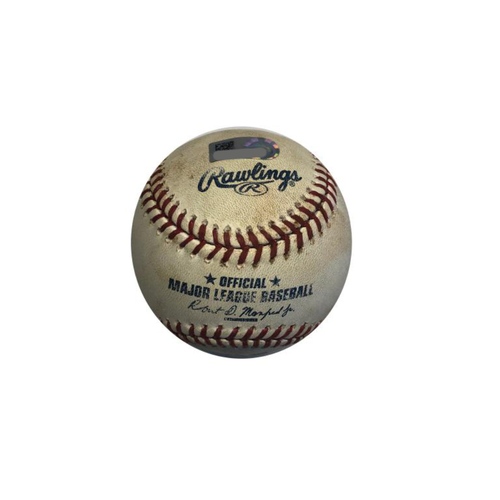 Photo of Game-used Baseball: 8/10/2016 Jackson Jr. vs McCutchen, Single