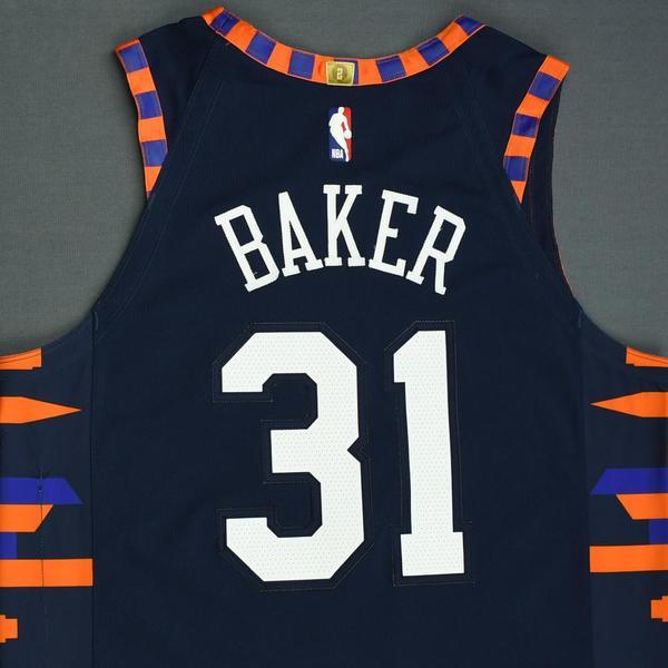 Ron Baker - New York Knicks - Game-Worn